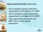 china seafood market overview1