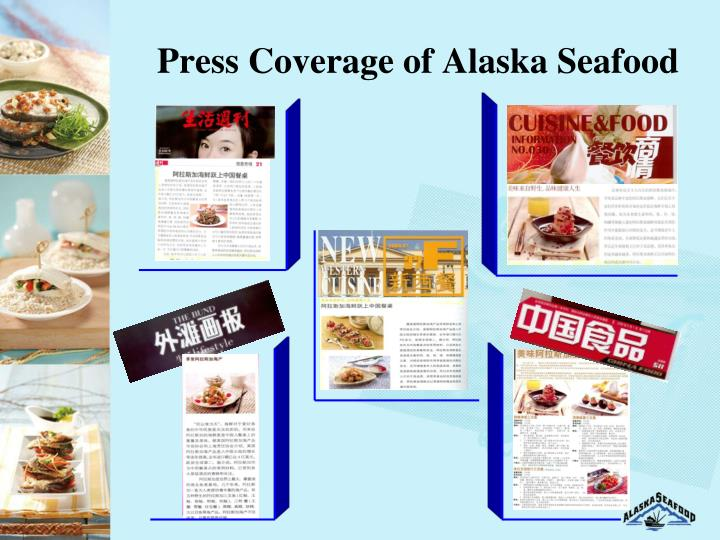 Press Coverage of Alaska Seafood