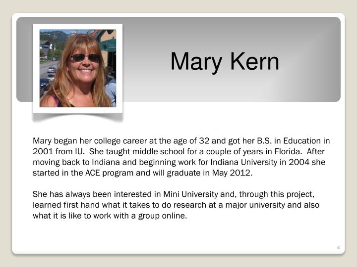 Mary Kern