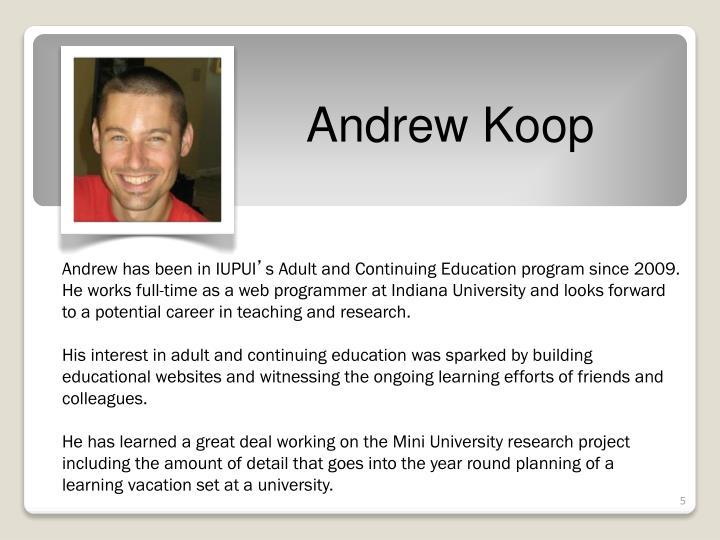 Andrew Koop