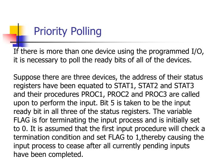 Priority Polling