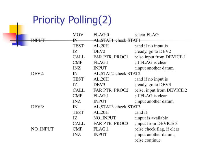 Priority Polling(2)
