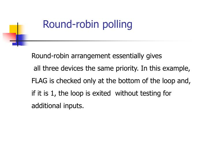 Round-robin polling
