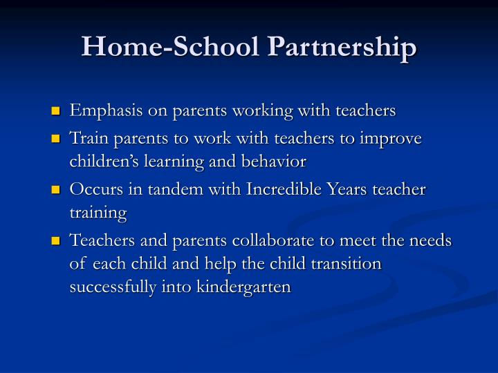 Home-School Partnership