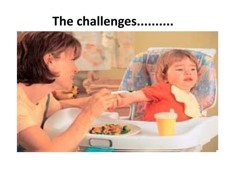 The challenges..........