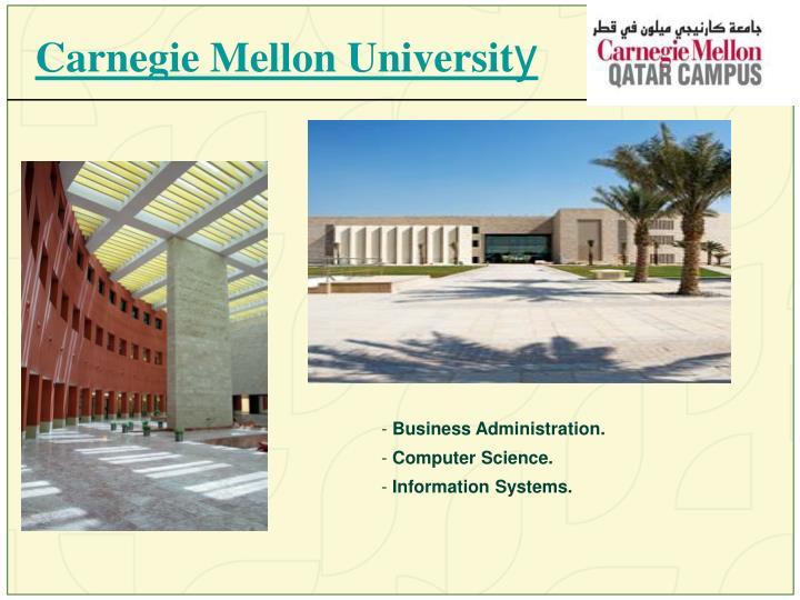 Carnegie Mellon Universit