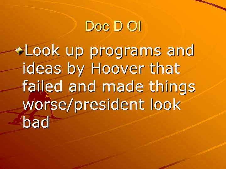 Doc D OI