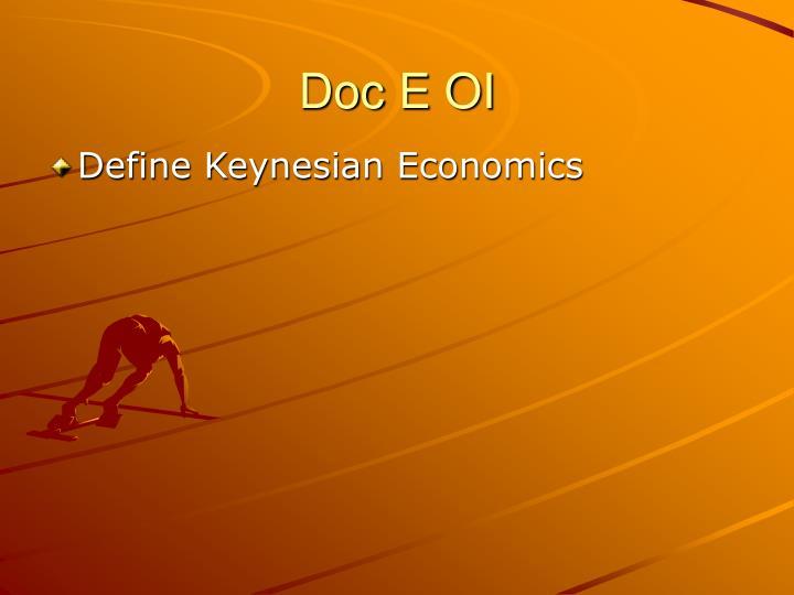 Doc E OI