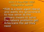 doc h pres fdr 1937 inauguration speech