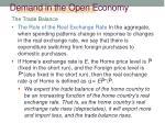 demand in the open economy4