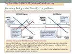 the short run is lm fx model of an open economy7