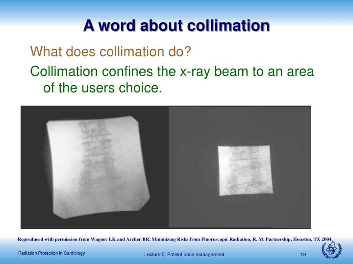 A word about collimation