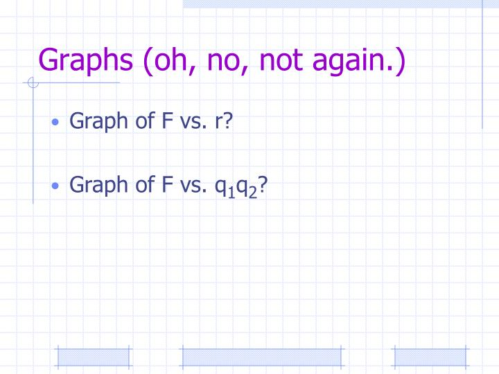Graphs (oh, no, not again.)