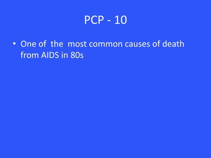 PCP - 10