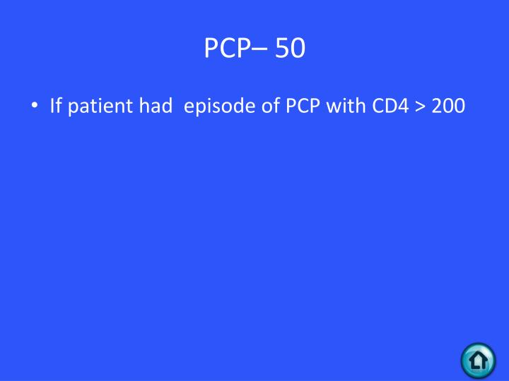 PCP– 50