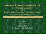 cs 6890 offered by charles yan presented by jyothi sankuri