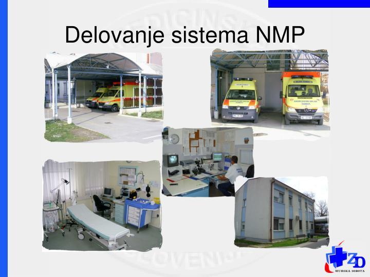 Delovanje sistema NMP
