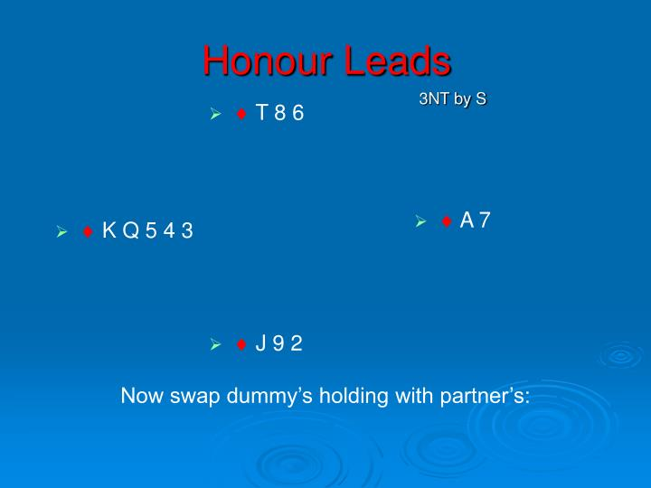 Honour Leads