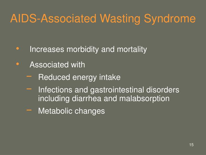 AIDS-Associated Wasting Syndrome
