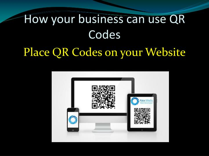 How your business can use QR Codes