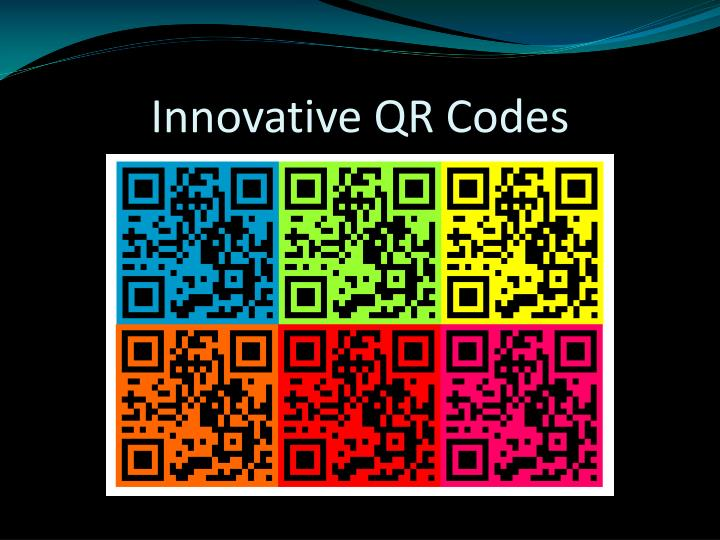 Innovative QR Codes