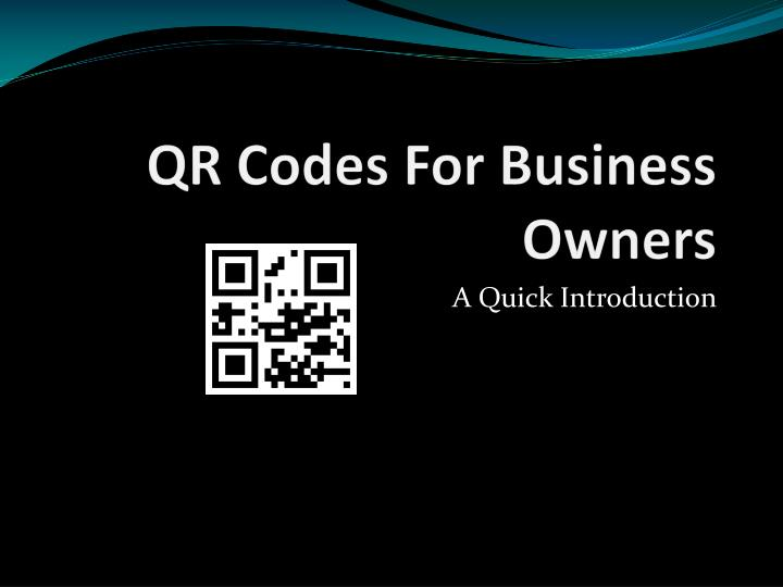 Qr codes for business owners