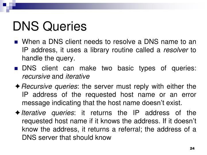 DNS Queries
