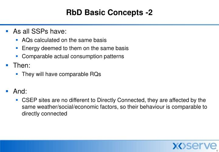 RbD Basic Concepts -2