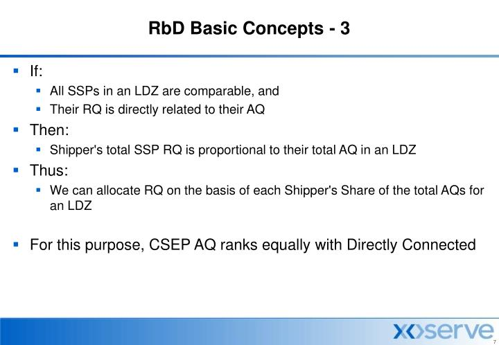 RbD Basic Concepts - 3