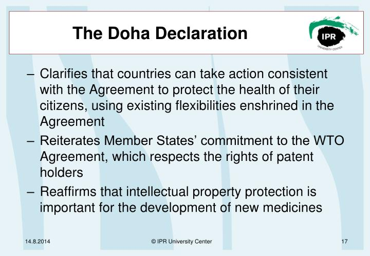 The Doha Declaration