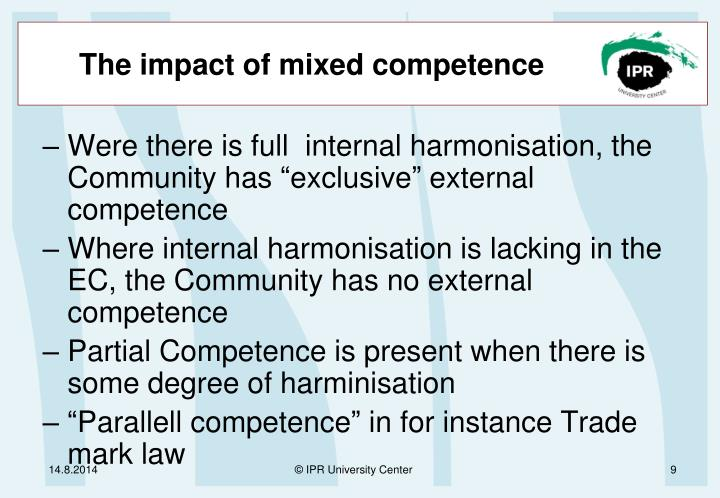 The impact of mixed competence