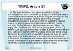 trips article 313