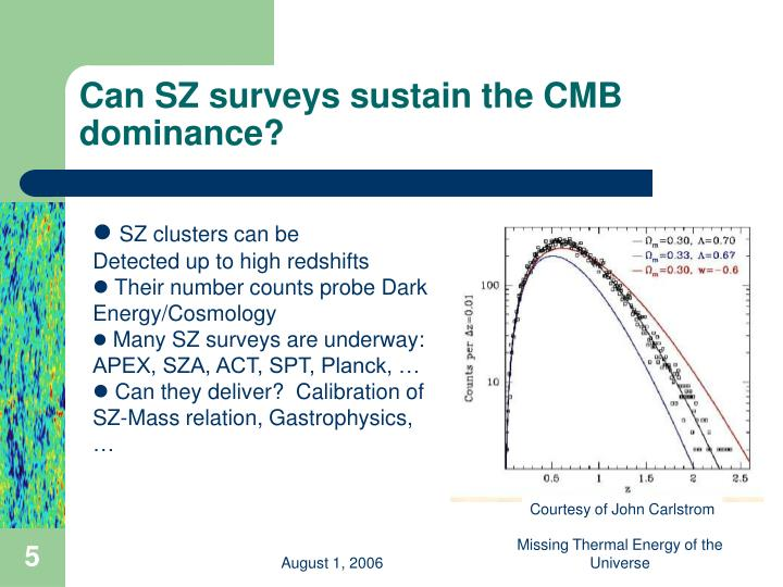 Can SZ surveys sustain the CMB dominance?