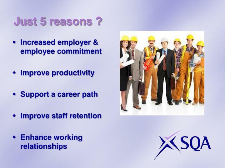Just 5 reasons ?