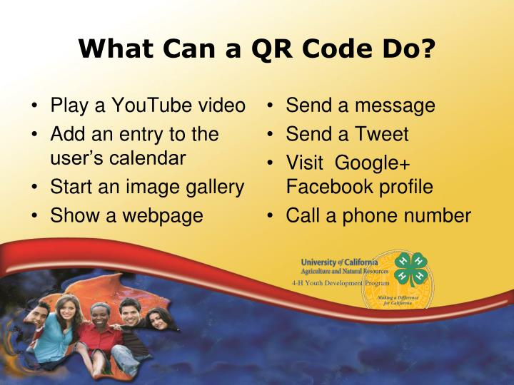 What Can a QR Code Do?