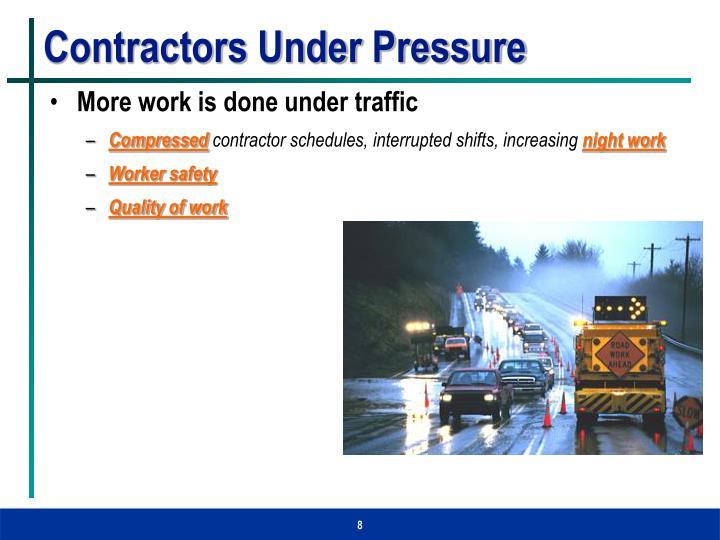 Contractors Under Pressure