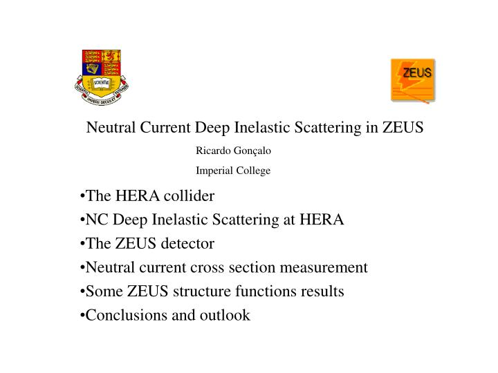 Neutral Current Deep Inelastic Scattering in ZEUS
