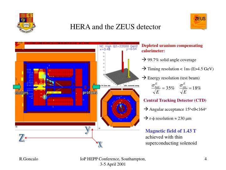 HERA and the ZEUS detector