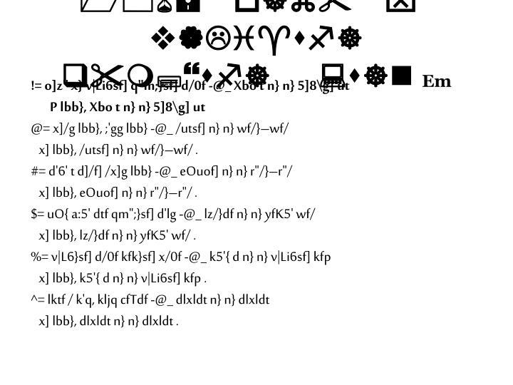 "106= o]z"" x} v|Li^sf] q""m;}sf] :s]n"