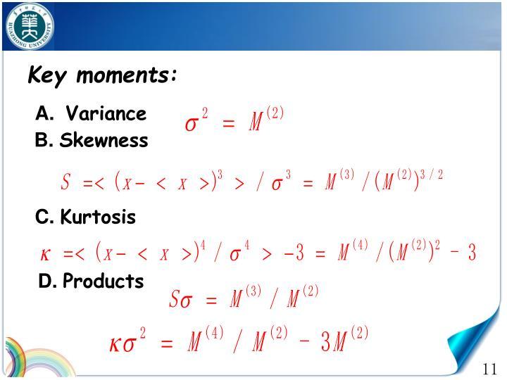 Key moments: