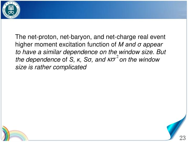 The net-proton, net-baryon, and net-charge real event higher moment excitation function of