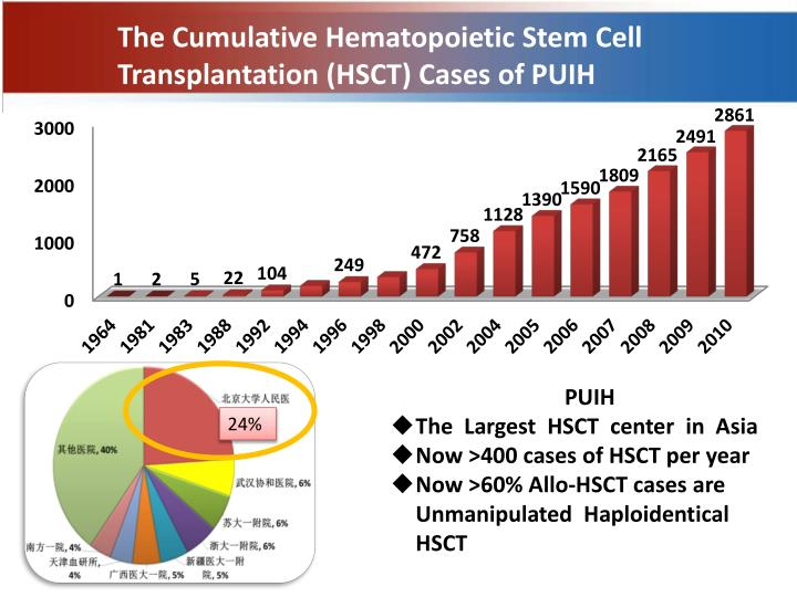 The Cumulative Hematopoietic Stem Cell Transplantation (HSCT) Cases of PUIH