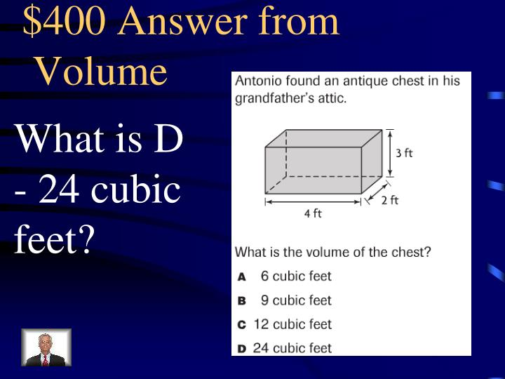 $400 Answer from