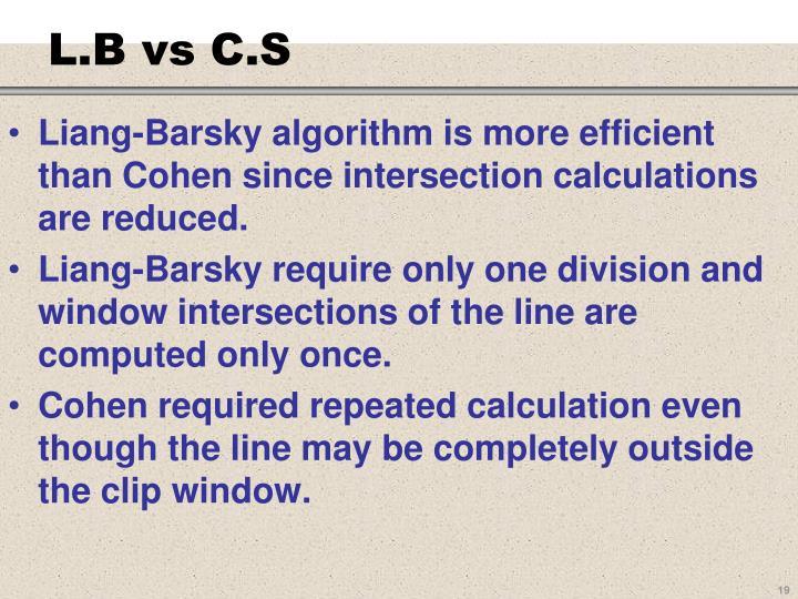 L.B vs C.S