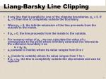 liang barsky line clipping2