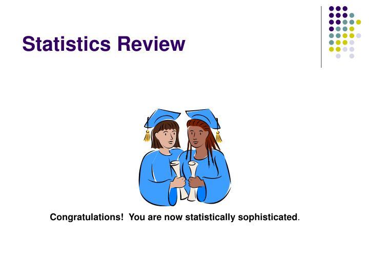 Statistics Review