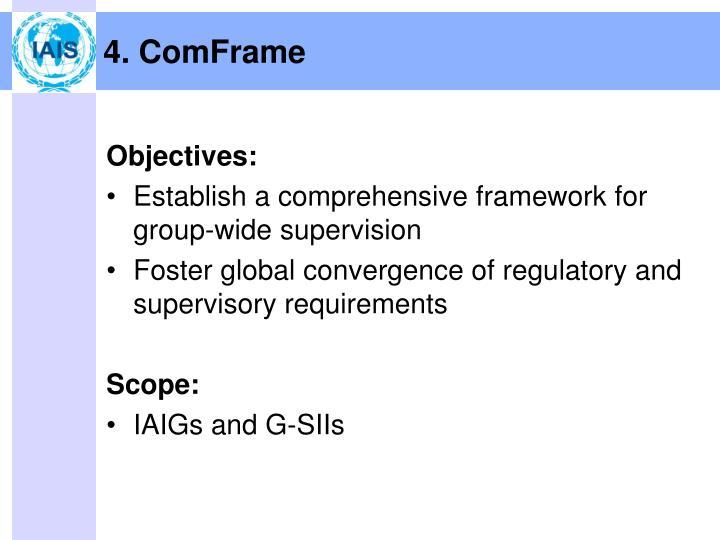 4. ComFrame