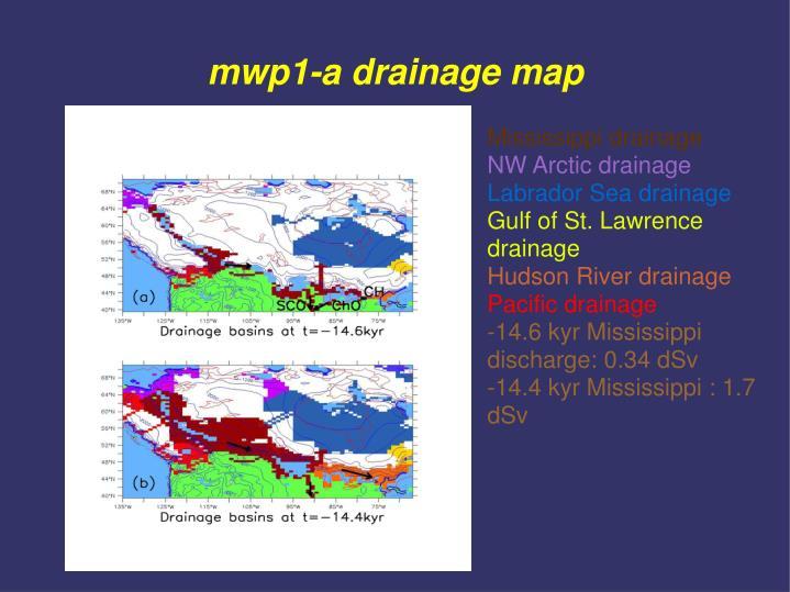 mwp1-a drainage map