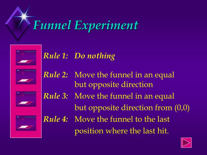 Funnel Experiment