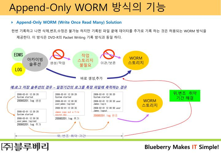Append-Only WORM